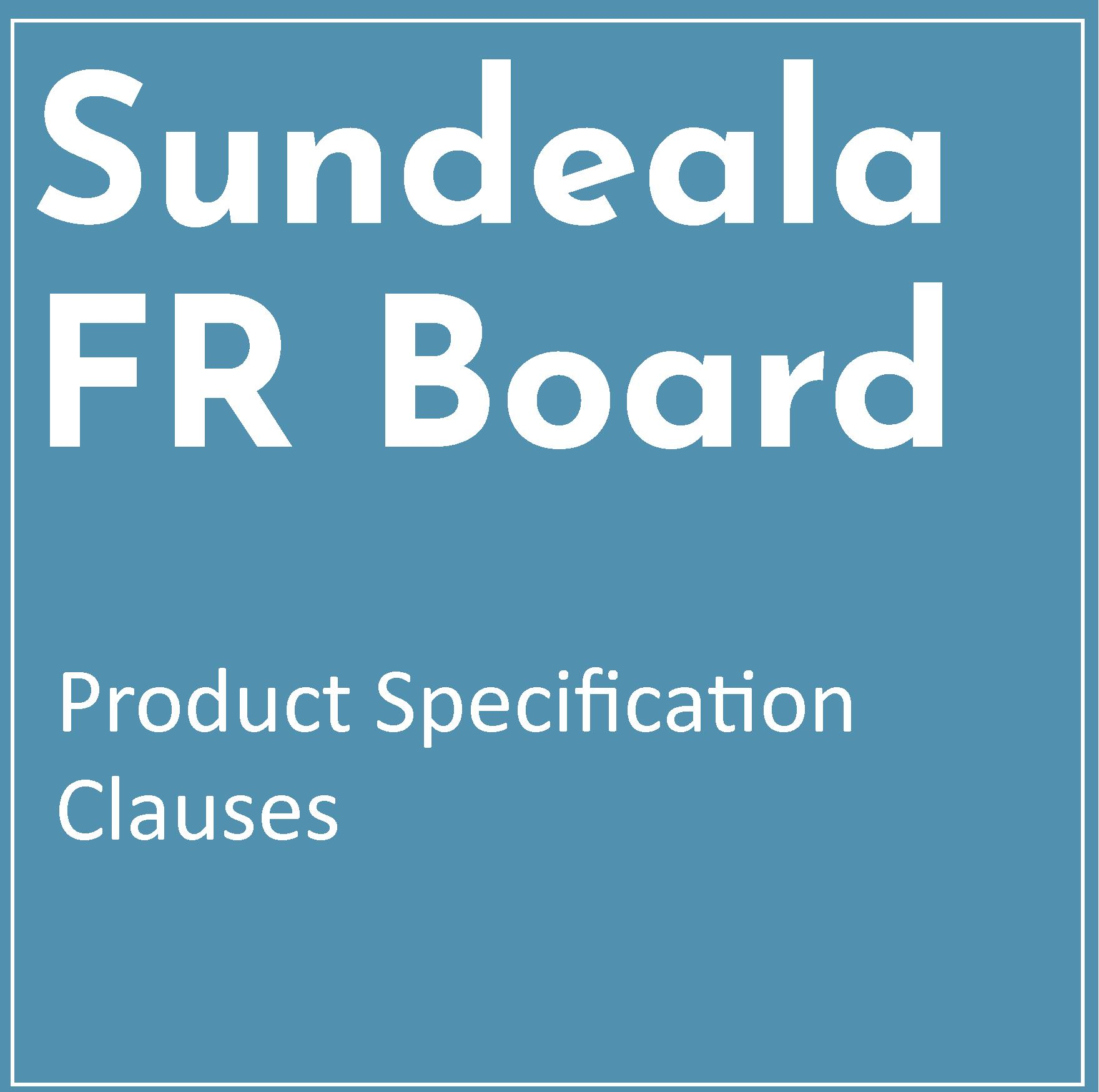 Product Specification Clauses