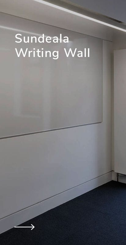 large whiteboard writing wall magnetic and drywipe surface